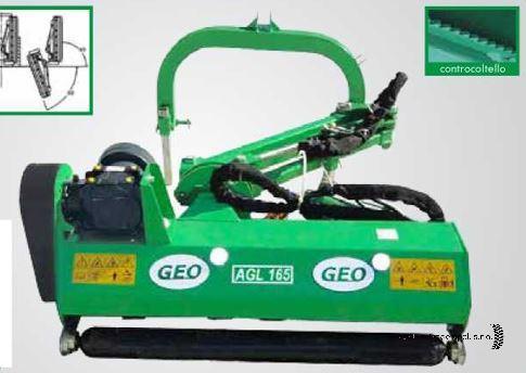 GEO AGL 165 szárzúzó
