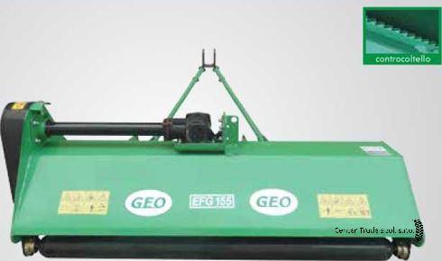 GEO EFG 175 szárzúzó