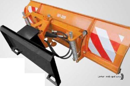 GEO SP 160 (rakodógép) hótoló