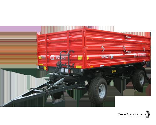 METAL FACH T710/2 pótkocsi
