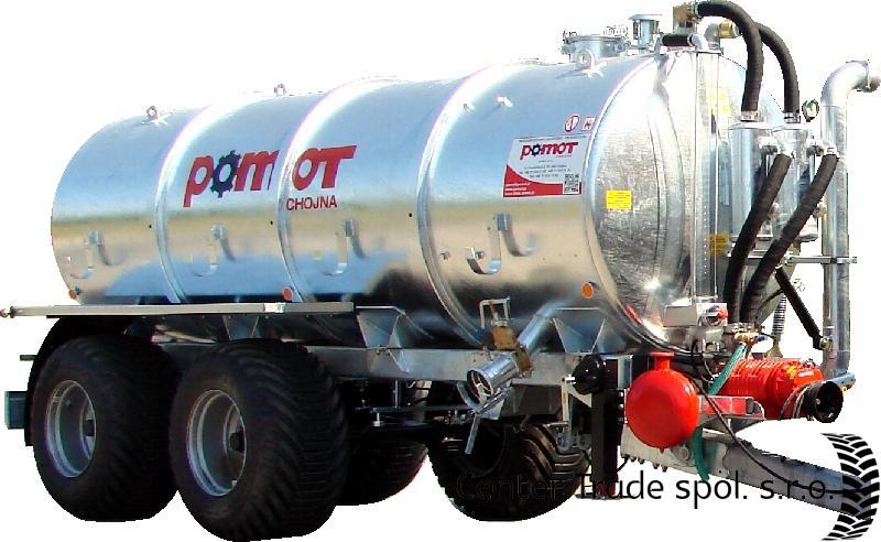 POMOT 16000 L szippantókocsi