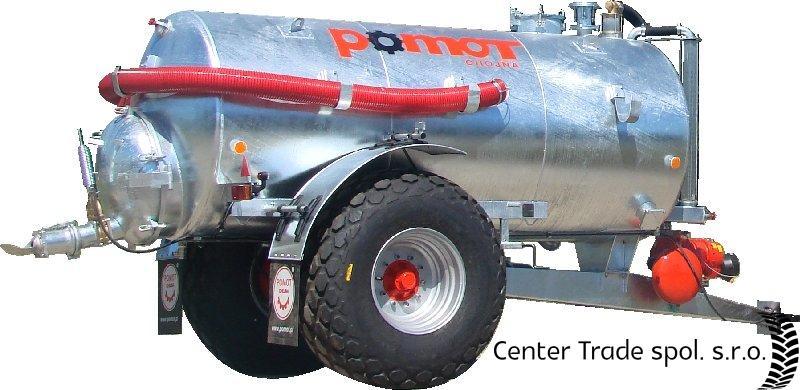 POMOT 8000 L szippantókocsi
