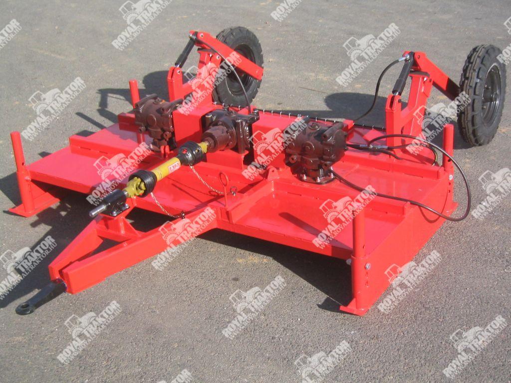 Bagodi BFZ-200 szárzúzó