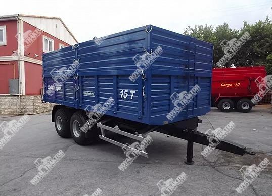 Palaz kéttengelyes tandem pótkocsi 14T