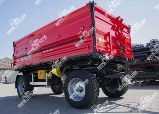 Palaz kéttengelyes pótkocsi 10T
