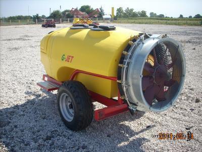 G-JET 1500 / 810 Axiv permetező