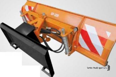 GEO SP 140 (rakodógép) hótoló
