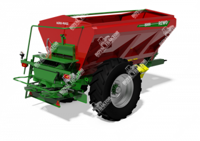 Agro-Masz REWO 8200 műtrágyaszóró