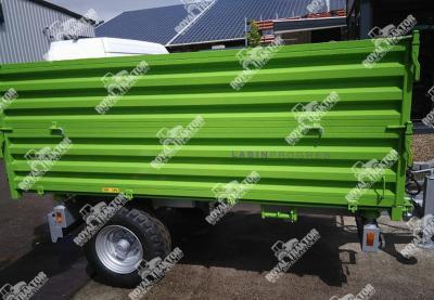Tuber PV 4000 pótkocsi