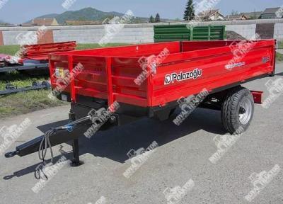 Palaz egytengelyes pótkocsi 6T